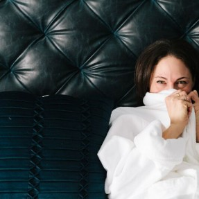 Exclusive Tour of the New Claremont Hotel Berkeley: Celine Testing and Resting in Bed