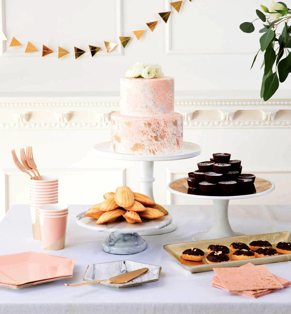 Harlow & Grey Partyware With Stunning Style: Dessert Table