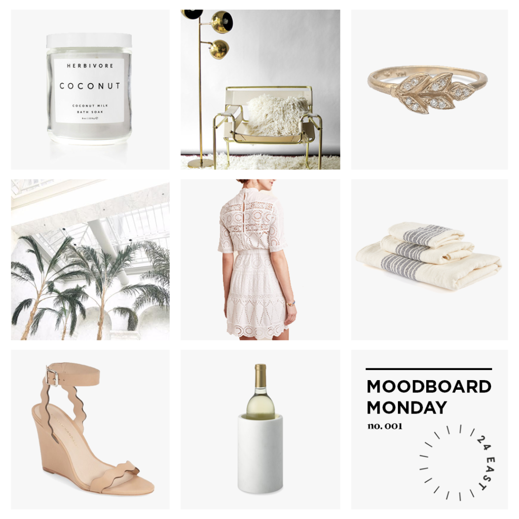 Moodboard Monday Laurel Lace: Beautiful Things to Inspire Your Week