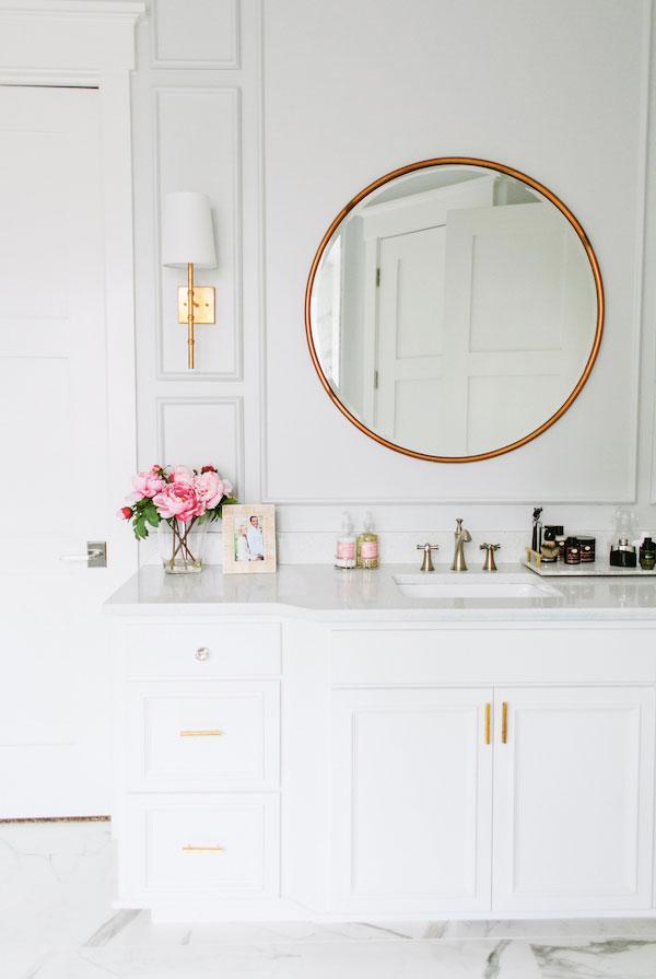 Round Mirror Bathroom 3
