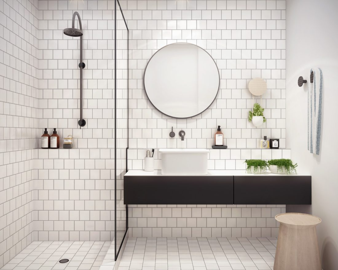 Fall S Bathroom Trend Round Mirrors